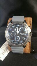 Fossil Watch sport 54, grey silicone chronograph watch CH 3063