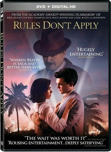 Rules Don't Apply DVD NEW
