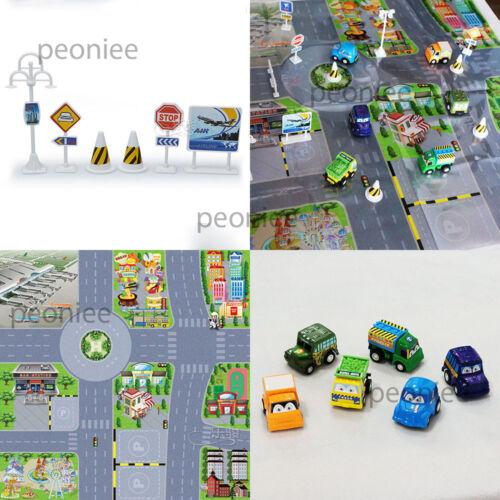 Creativo Juguete Educativo Camión Automóvil señales viales el tráfico Mapa Niños Niños Regalo