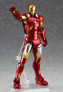 Figma-217-Marvel-039-s-The-Avengers-Iron-Man-Action-Figure-Toy-Doll-Collection-Model