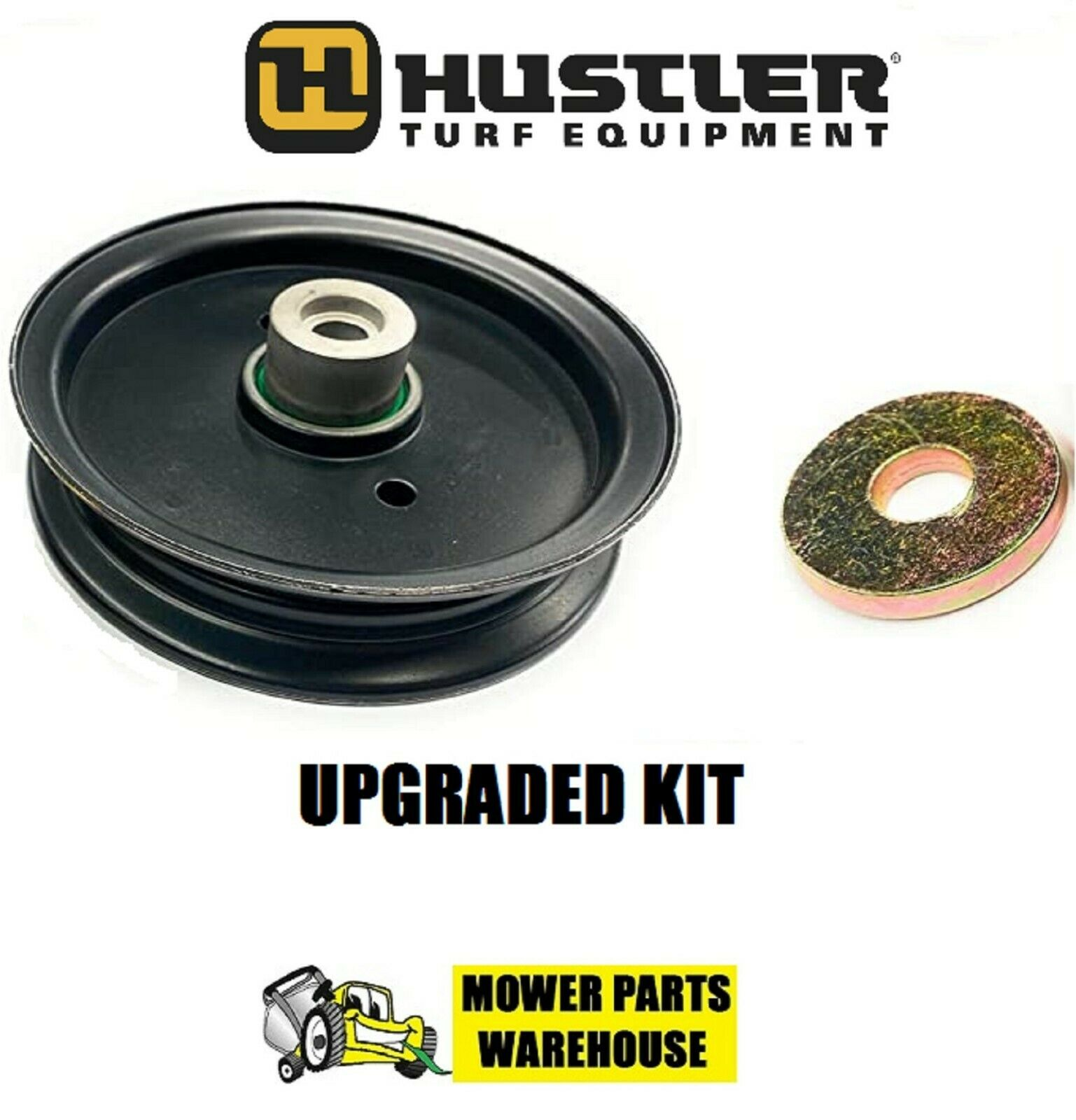 Hustler Mower Deck Idler Pulley replaces 604219 4/'/' outside diameter Raptor Deck