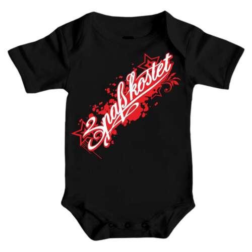 Baby Body Strampler kurz Spaß Kostet Rote Serie 62-92 cm Geschenk Geburtstag