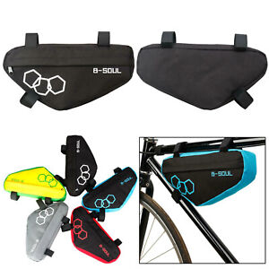 Triangle-Bicycle-Frame-Front-Tube-Bag-Cycling-Bike-Pouch-Holder-Saddle-Pannier
