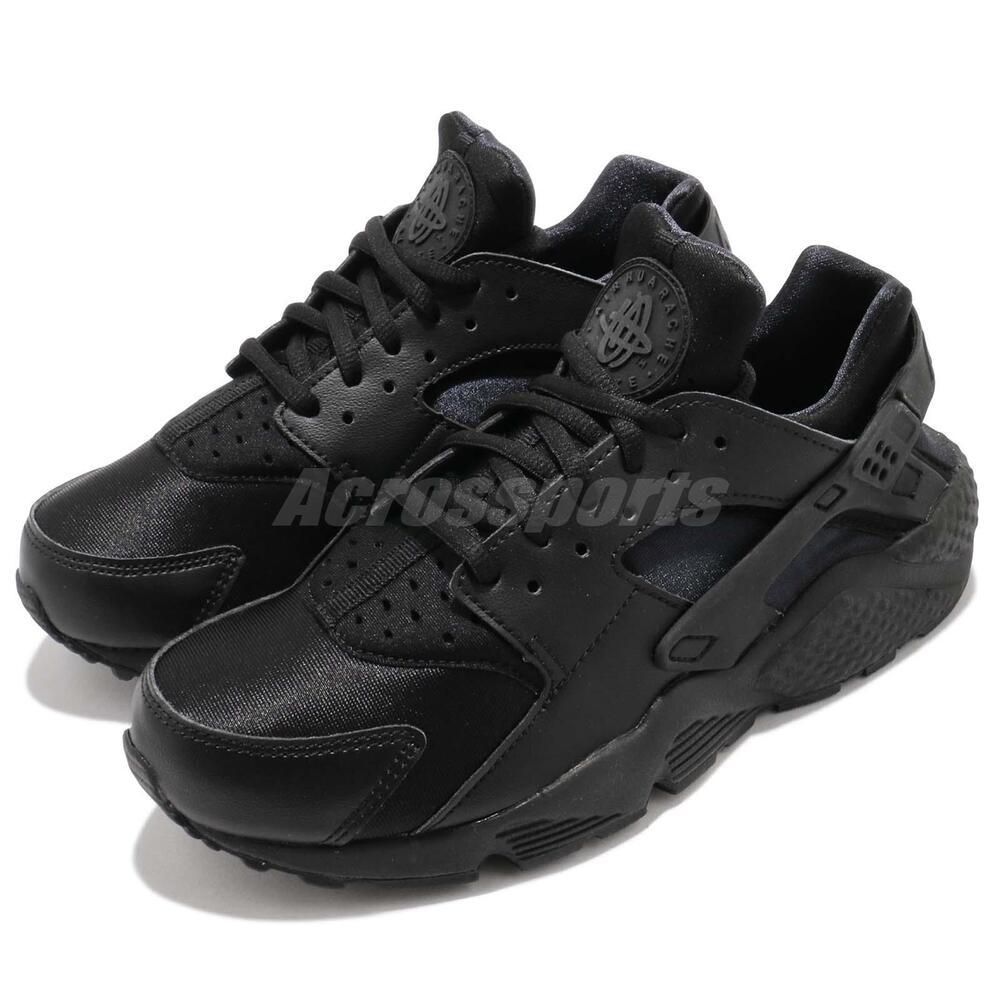 Nike Wmns Air Air Wmns Huarache Run Triple Noir Women Running Chaussures Baskets 634835-012 Chaussures de sport pour hommes et femmes 6c6807
