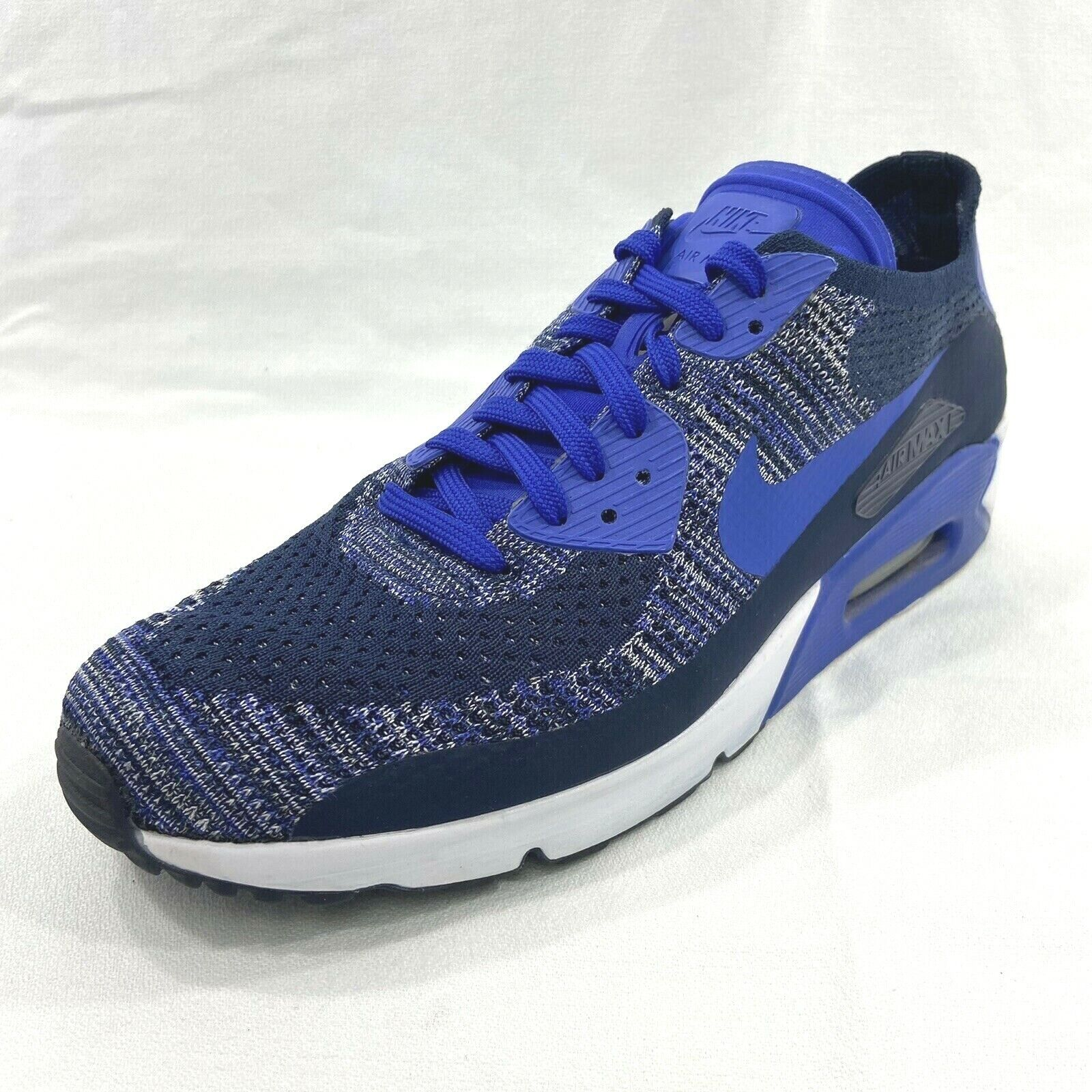 Size 11 - Nike Air Max 90 Ultra 2.0 Flyknit Collegiate Navy 2017