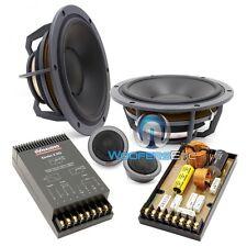 "OPEN BOX ESOTEC SYSTEM 242 DYNAUDIO 7"" 2-WAY COMPONENT SPEAKERS TWEETERS"