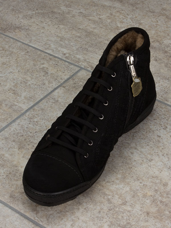 Good Man  Leather Italian Boots Winter Collection Size 6