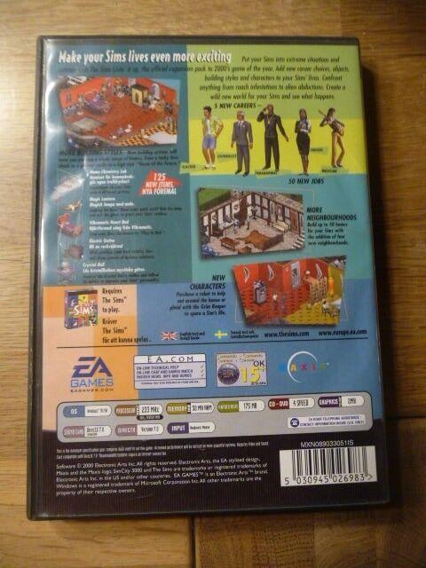 The Sims Livin it up, til pc, anden genre