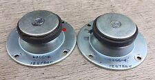 """NICE pair UTAH AS7 V3CC-4 3.5"""" Tweeters Speakers ~ 8 ohms"""