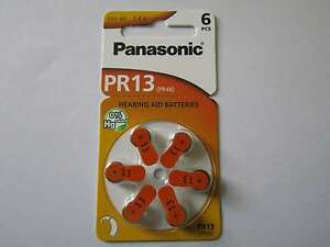 30x-PR13-Hoergeraetebatterien-Zink-Luft-300mAh-Panasonic