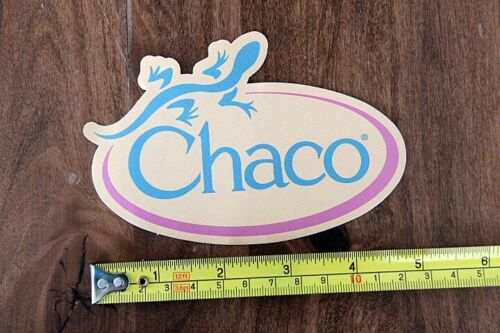 CHACO Sandals STICKER Decal NEW Lizard