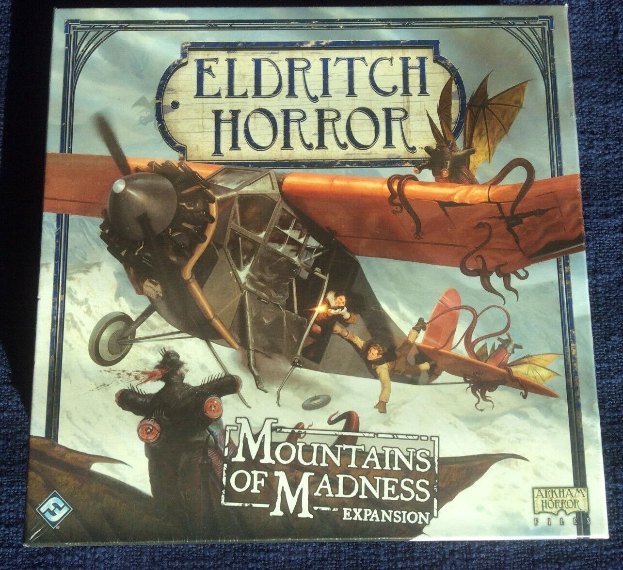 Eldritch Horror MOUNTAINS of MADNESS - Fantasy Flight Games - New Board Game