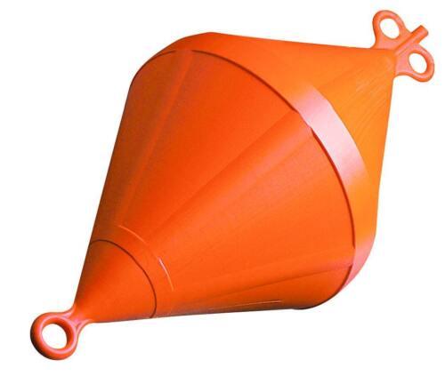 Doppelspitzboje Boje Ankerboje Kunststoffboje NEU 61 Liter Orange 20640