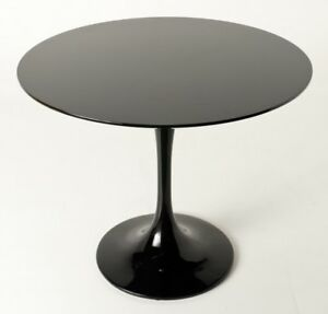 Image Is Loading Contemporary Modern Design Black Tulip Dining Table Eero