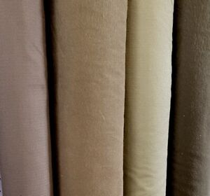 Chocolate Coloured 100/% Cotton Fabric by the Metre