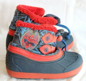 the latest ec01d 58660 Details zu Kinderschuhe Outdoor Größe 25 Spiderman rot blau Kinder Schuhe  Winterschuhe
