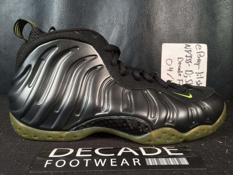 NIKE AIR FOAMPOSITE ONE 2007 SAMPLE 9 CACTUS GREEN 2007 ONE Noir COMIC PRO GALAXY YEEZY e38657