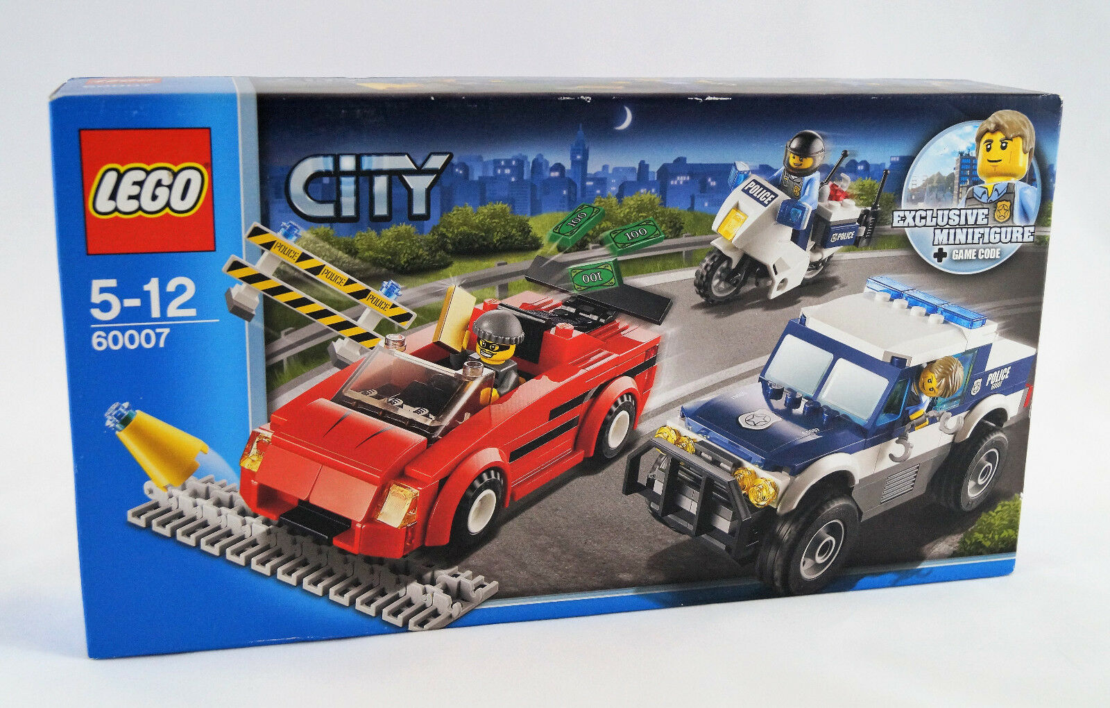 Lego® Lego® Lego® City 60007 Verfolgungsjagd Neuware   New   Sealed 0c4cab