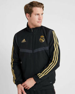Real-Madrid-Adidas-Presentation-Jacke-Jacket-2019-20-Herren-Schwarz
