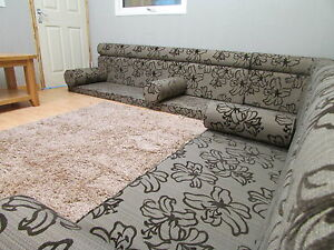 moroccan floor seating. Image Is Loading Moroccan-floor-seating-Brown-floral-Rounded-Top Moroccan Floor Seating I