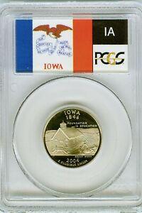 2004-S Flag Clad Florida State Quarter FL PR70DCAM PCGS Proof 70 Deep Cameo