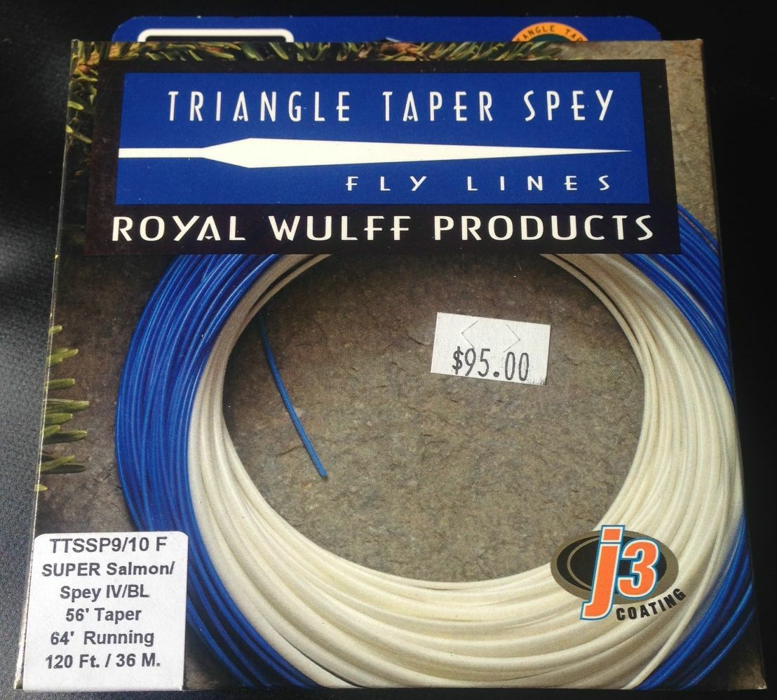 Royal Wulff Triangle Taper Spey TTSSP 6 7 F SUPER Spey Fly Line FREE SHIPPING