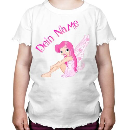 Fées princesse fille BD CONTES enfants t-shirt avec personnelles demande nom
