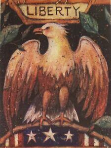 Toland Liberty Decorative 28 X 40 Eagle House Size Flag Ebay