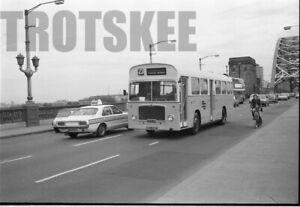 35mm Negative Tyne Wear Bristol RE 939 HCU519G at Newcastle 1975