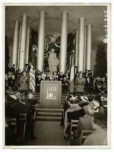 1939-New-York-World-039-s-Fair-pavillon-francais-salon-d-039-honneur-Photo-Vintage