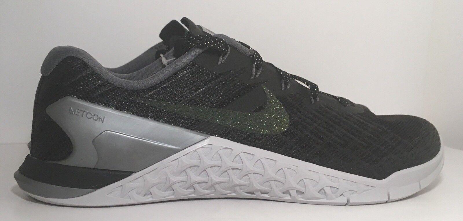 SZ.10.5 Women's  Nike Metcon 3 Metallic 922880-001  Black/MultiColor