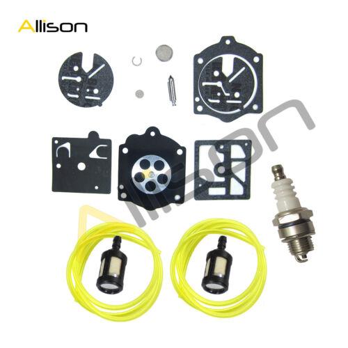Walbro K10-HDC Carburetor Carb Kit /&Fuel Line Fit Stihl 015 015AV 015L 15AVE