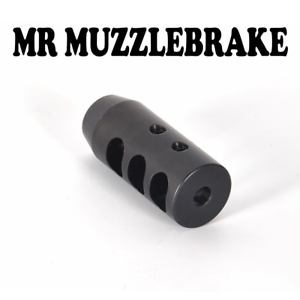 Details about  243/6mm Muzzle brake 5/8x24,Ruger Mossberg Savage Howa Tikka