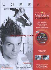 Loreal Stdioline Indestructible Glue 2008 Magazine Advert #1988