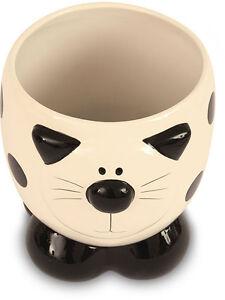 2Kewt-Ceramic-Cat-Feline-Bin-Bathroom-Accessory-New
