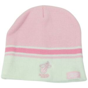 NBA Womens Reebok Rbk Miami Pink Striped Winter Beanie Knit Skull ... 4bc4c0e5c5