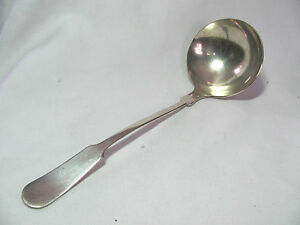 7 One 1 in the BBB 3 Pattern. Banks /& Biddle Silver Plated Gravy Ladle from Bailey