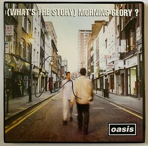 LIAM-GALLAGHER-HAND-SIGNED-12-034-VINYL-WHAT-039-S-THE-STORY-MORNING-GLORY-OASIS-1