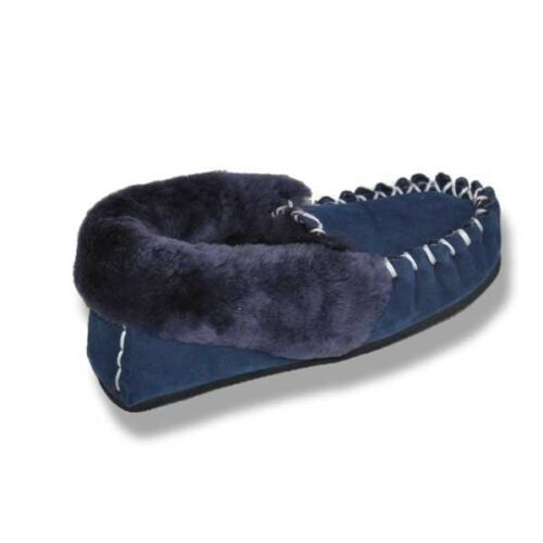 Australian Hand Crafted Sheepskin Moccasins Men/'s /& Women/'s Slippers up to S15