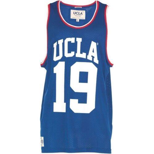 Size S UCLA Bruins19 Inspired Los Angeles Men/'s Basketball Mesh Tank Top// Vest