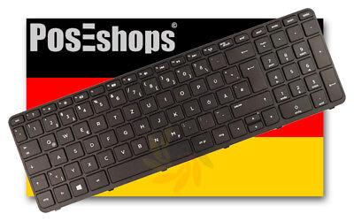 2019 Mode Orig. Qwertz Tastatur Hewlett Packard Hp Pavilion 15t 15t-e000 De Mit Rahmen Neu Elegante Verschijning