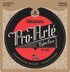 D-039-Addario-EJ45-Pro-Arte-Nylon-Guitare-Classique-Cordes-normal-Tension