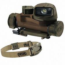 Petzl Strix IR LED Kopflampe Stirnlampe Tactical Lampe Military TAN