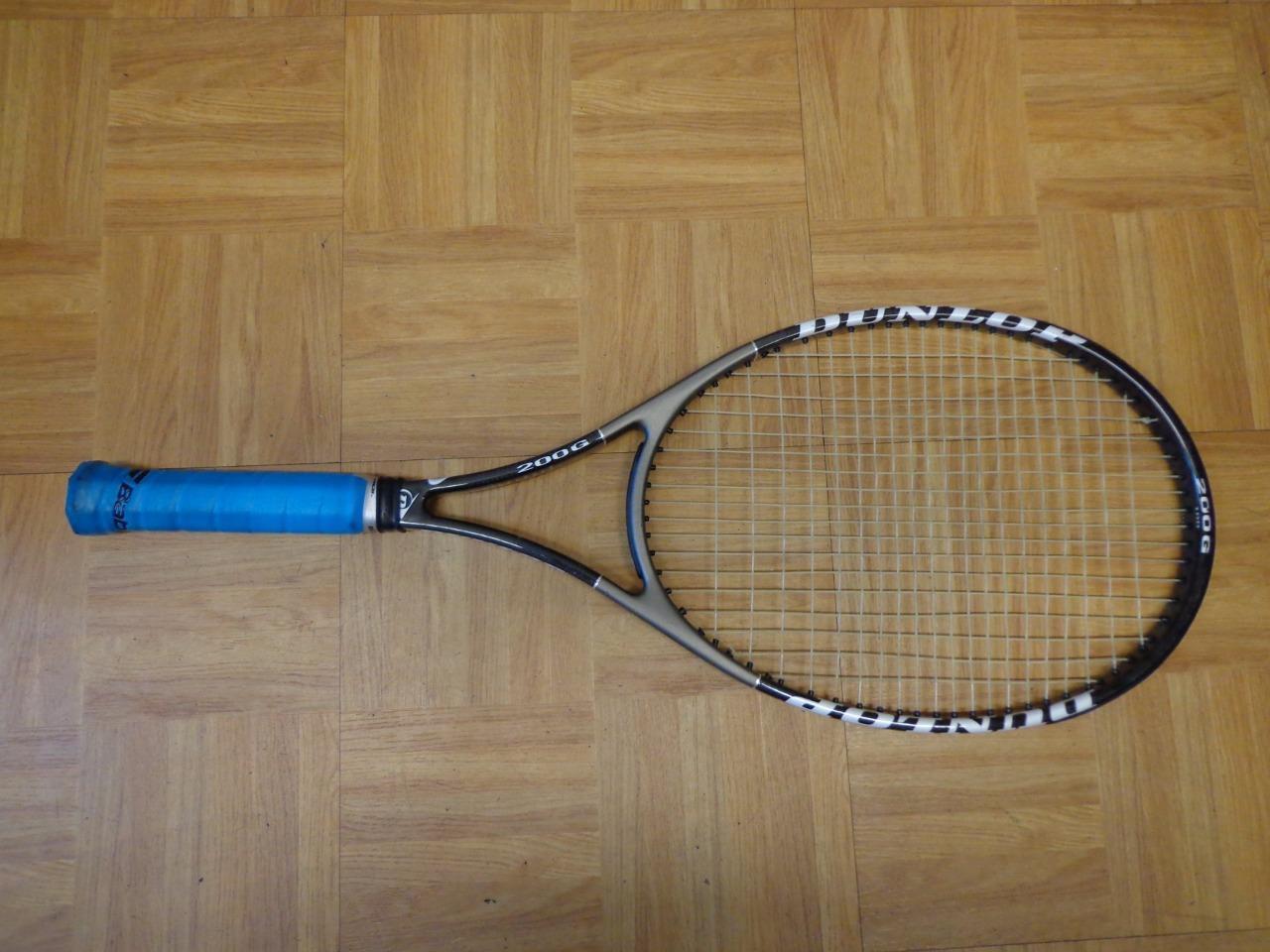 Dunlop Muscle Weave 200G 100 headsize 4 1 2 grip Tennis Racquet