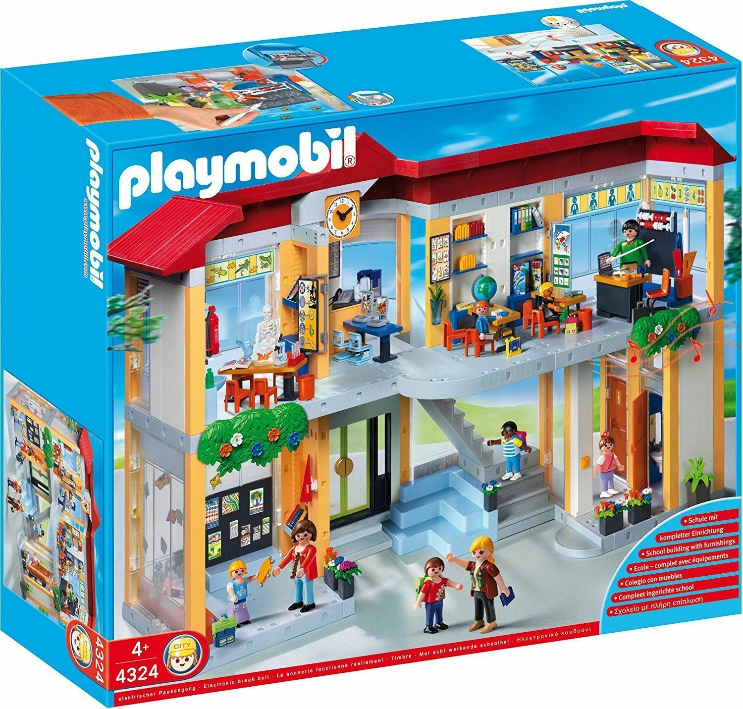 PLAYMOBIL  4324 SCHOOL  MISB NEW