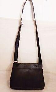 VOI-Hand-Umhaenge-Tasche-EDEL-Damentasche-Schwarz-Damen-Tasche-Echt-Leder-Design