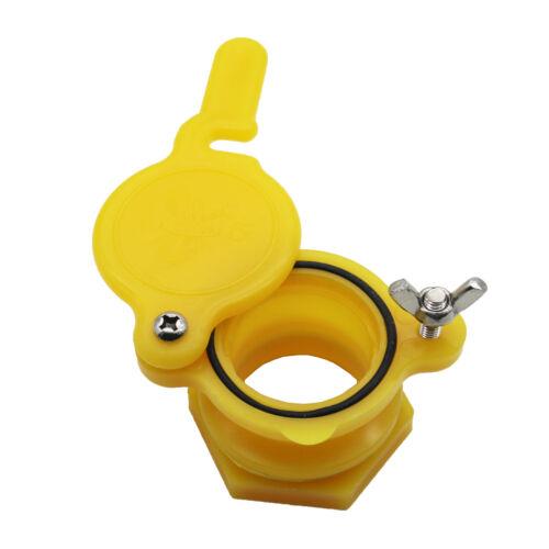 Honey Gate Valve Extractor Tap Beekeeping Equipment Honey Extractor Color Yellow
