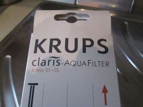 NEU OVP für Artese 01-05 KRUPS Filter Kartusche Claris-AquaFilter