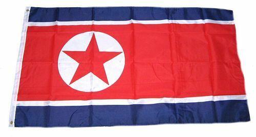 Bandiera//bandiera COREA DEL NORD hissflagge 90 x 150 cm