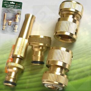 Garden Hose Pipe Fittings/ Metal Hosepipe/Tap Quick Connectors and spray nozzle